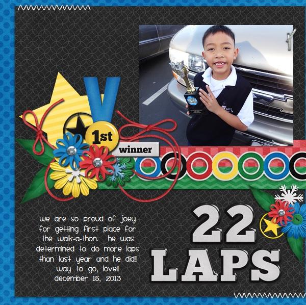22 Laps
