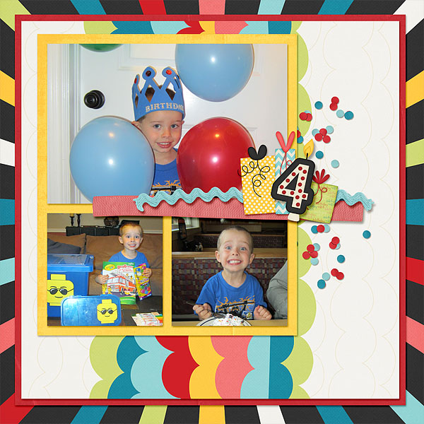 PJ's 4th Birthday