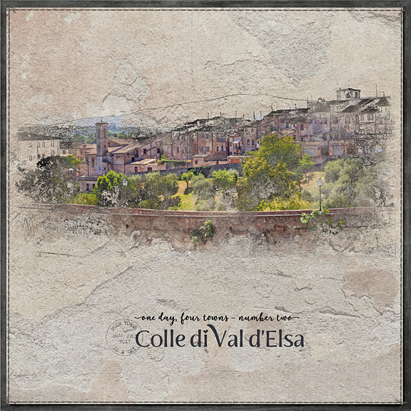1 Day, 4 Towns - No 2 Colle di Val d'Elsa LHS