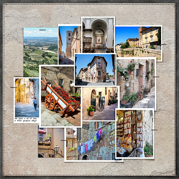 1 Day, 4 Towns - No 2 Colle di Val d'Elsa RHS