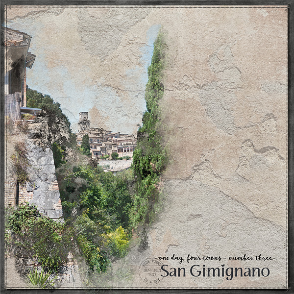 1 Day, 4 Towns No3 San Gimignano LHS