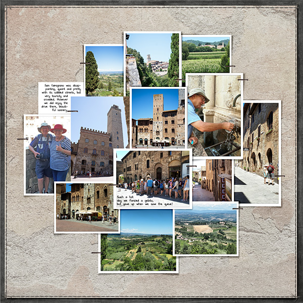 1 Day, 4 Towns No3 San Gimignano RHS