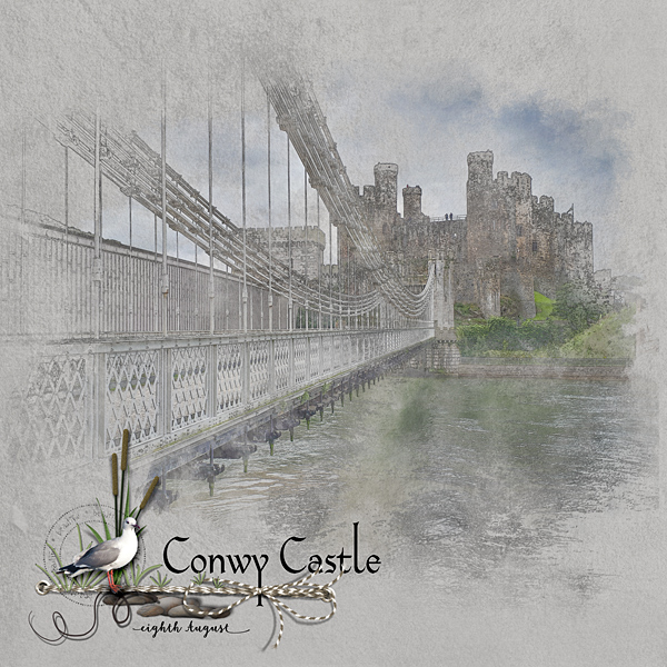 Conwy Castle LHS