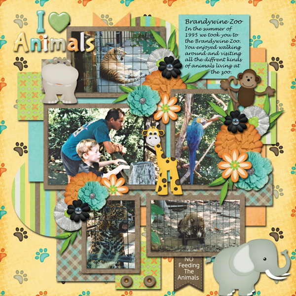 Dandelion Dust-Zoo Crew & Tinci-Amazing Year November Template