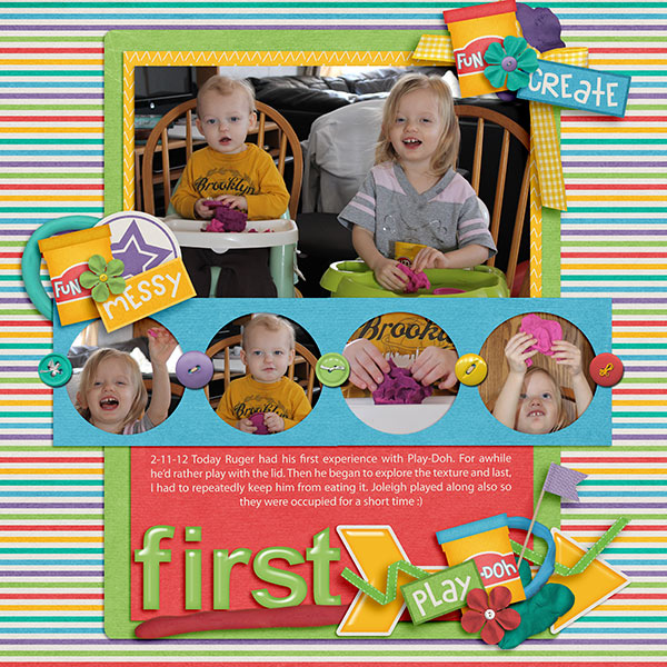 First Play-Doh