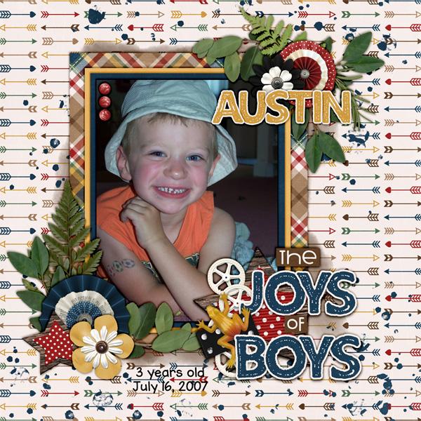 Austin 3 yrs old