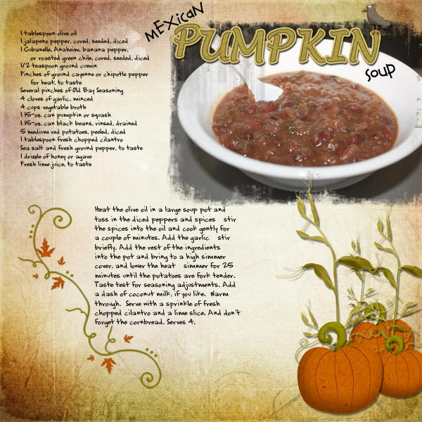 2010 11 Word- Pumpkin Soup