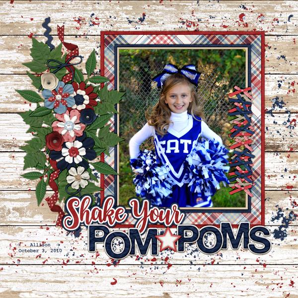 Shake your Pom Poms