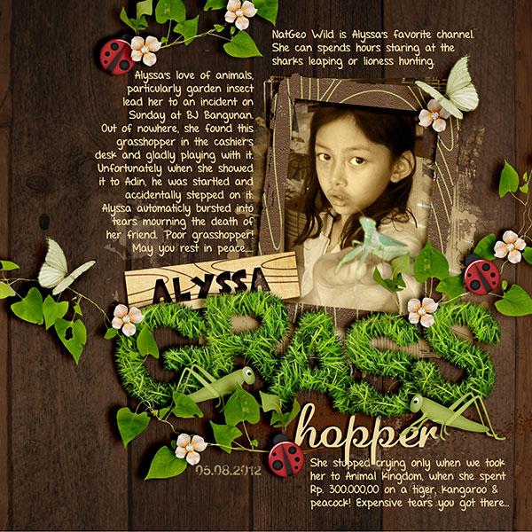 Alyssa's Grasshopper