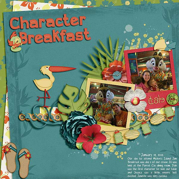 Character Breakfast: Dale