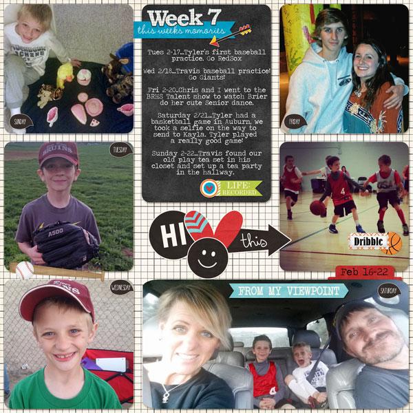 Week 7, 2015