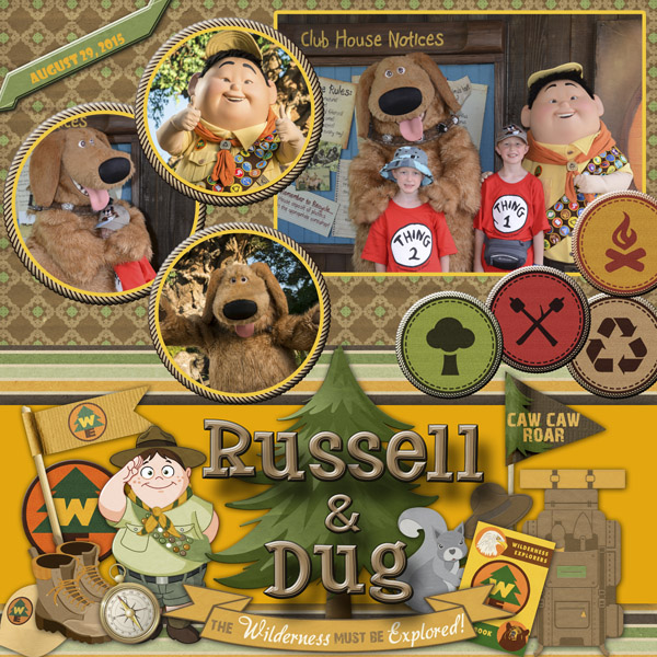 2015 Russell and Dug