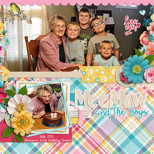MeeMaw and the Boys