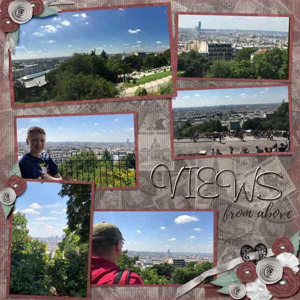 2018 Paris Views from Sacre Coeur