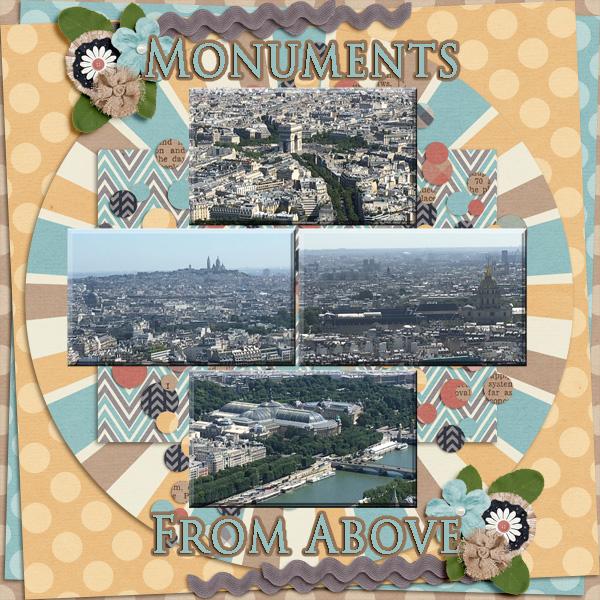 2018 Paris Monuments