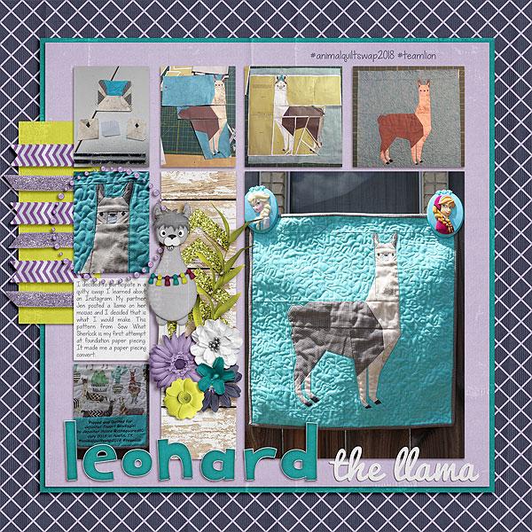 Leonard the Llama