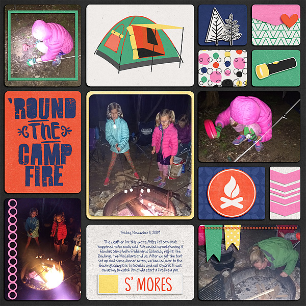 'Round the Camp Fire