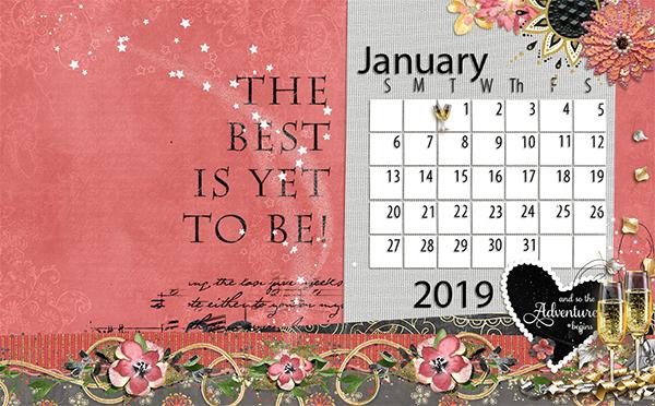 Jan desktop for 2019