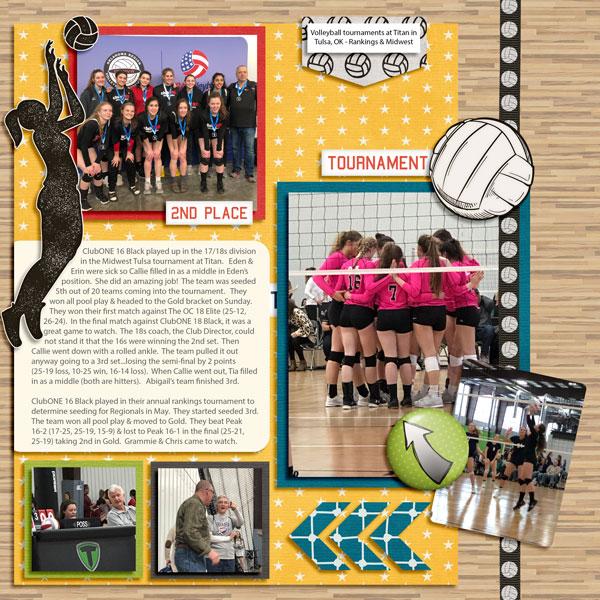2/19 Tulsa Volleyball Tournaments