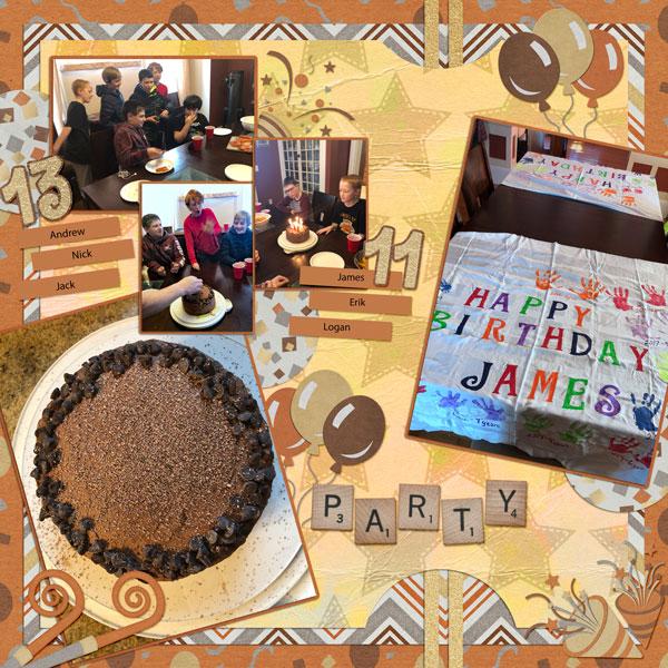 2019 03 Birthday Party