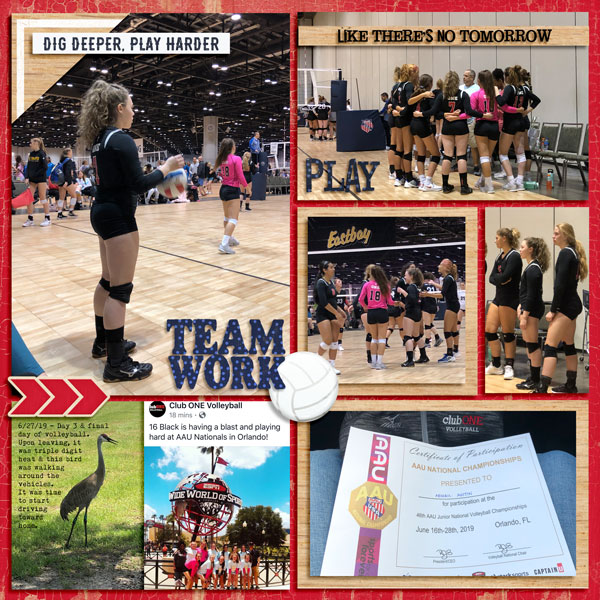 AAU Volleyball Nationals Day 3 - 6.27.19