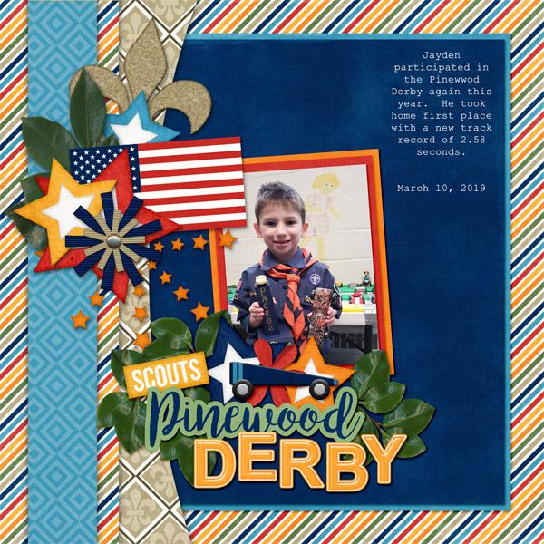 JJ Pinewood Derby