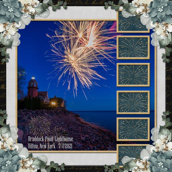 Braddock Point Lighthouse 7/4/2021
