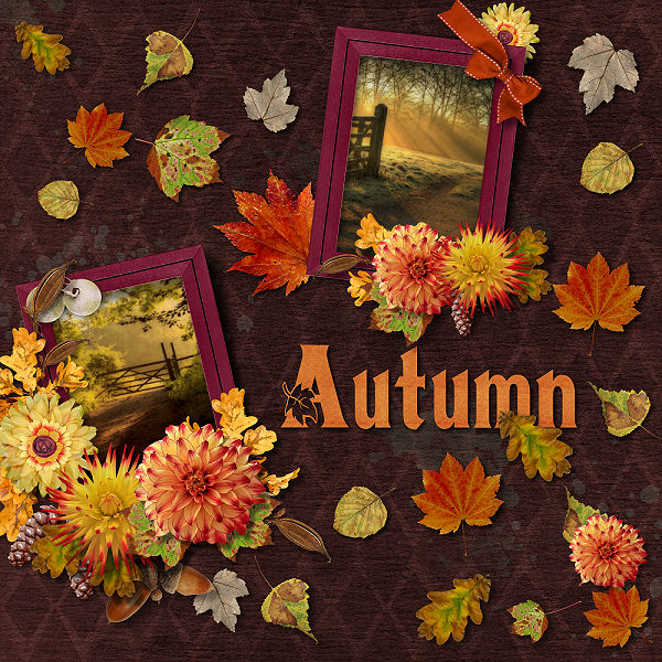 Autumn Leaves by ADB Designs