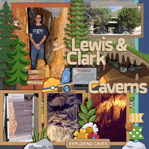 Lewis & Clark Cavern (right side)