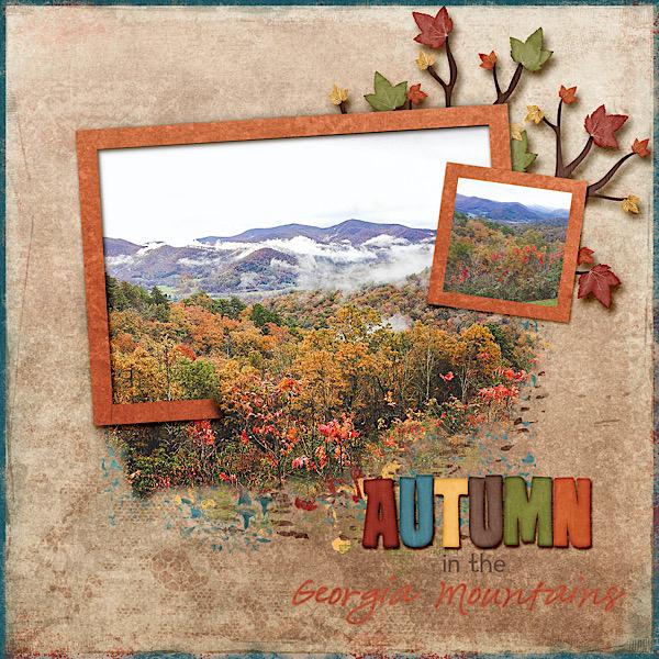 Autumn in the Georgia Mountains