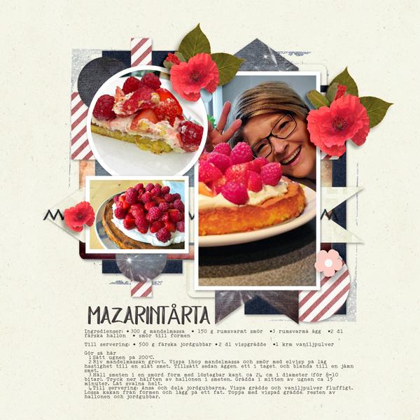 Mazarine cake