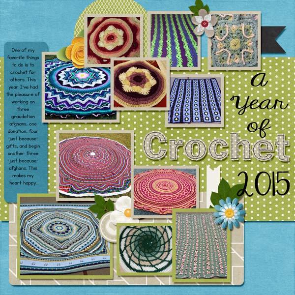 A Year in Crochet 2015