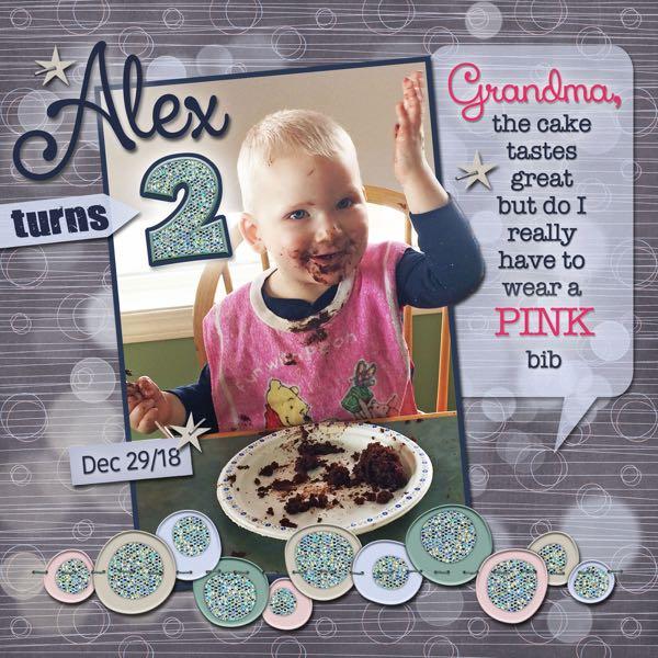 Alex Turns 2