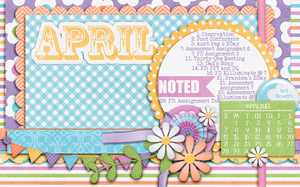 April Desktop