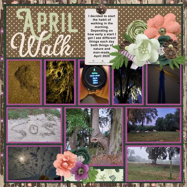 April Walk Page 1