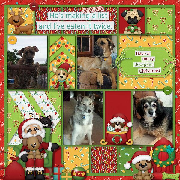Santa Claws by Boomersgirl Designs