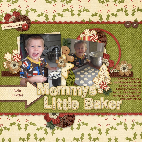 Mommy's Little Baker