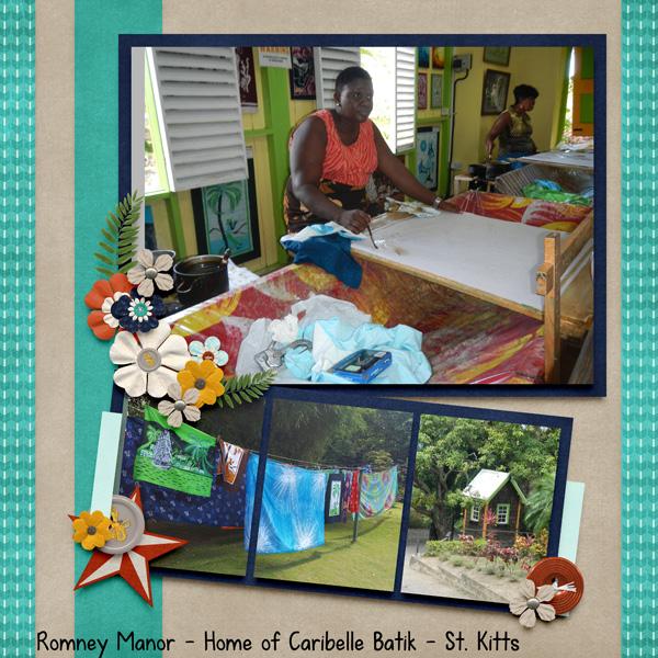 Batik St Kitts