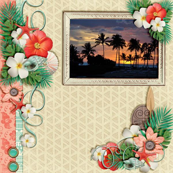 Beautiful-Aulani-Sunset