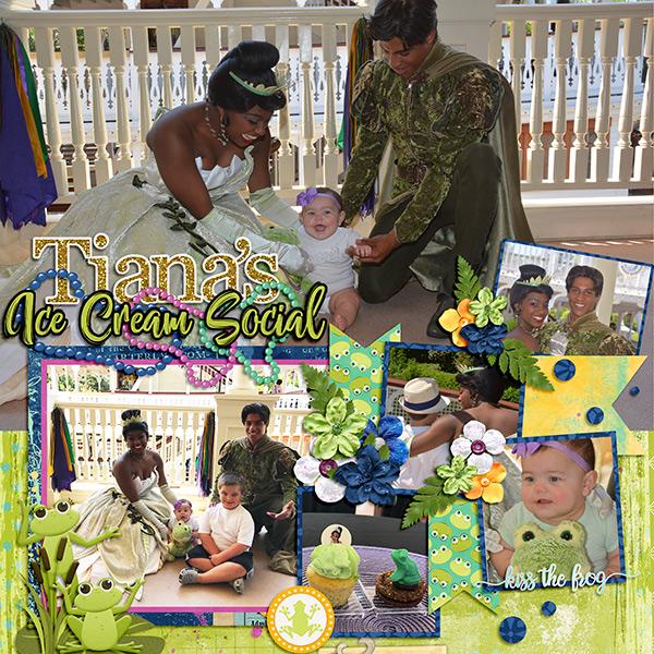 Tiana's Ice Cream Social