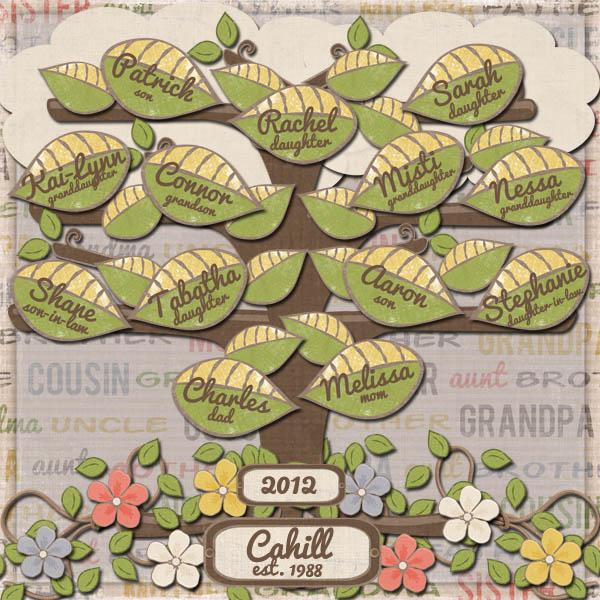 Cahill Family Tree