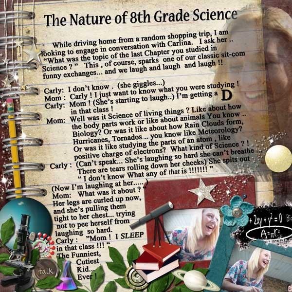The Nature of 8th Grade Science
