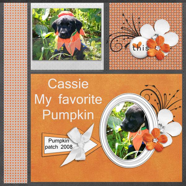 My favorite Pumpkin Cassie