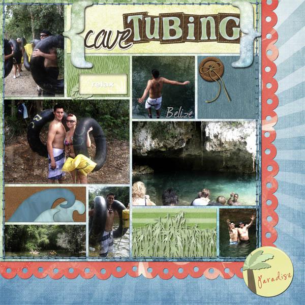 Cave Tubing