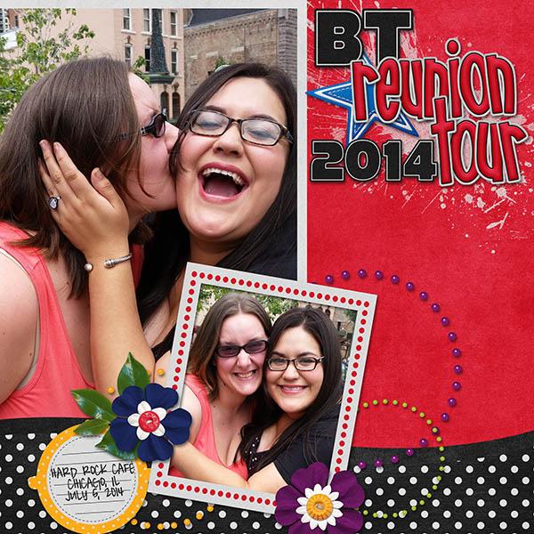 BT reunion tour 2014