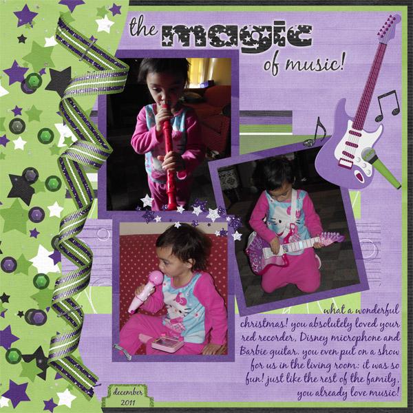 The magic of music!