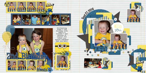 Isaac's 2nd Birthday
