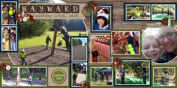 Hayward Camping