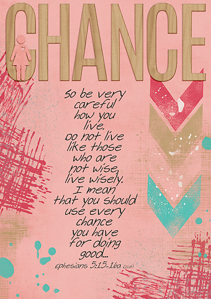 DSD One Word Challenge - Chance