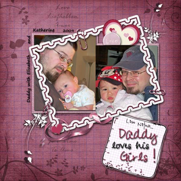 Daddy loves his Girls!